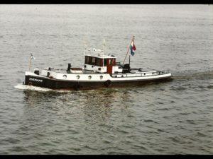 "Sleepboot 16.18 m. (1922) ""EVENAAR"""